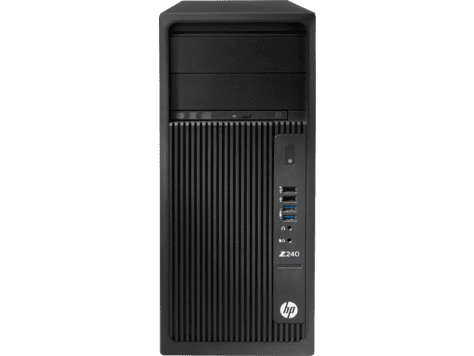 HP Europe Z240 Tower Core i7 256Gb Windows 10