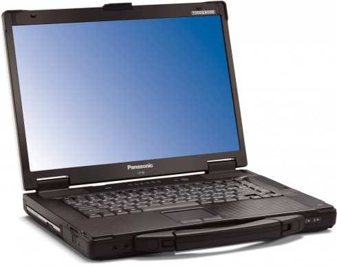 "Panasonic Toughbook CF-52 15.4"" Core 2 Duo T7100"