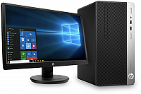HP ProDesk 400 G4 MT Intel Core i3 7100 3.9GHz + Monitor V214.7in
