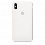 Apple Silicone Case для iPhone XS Max белый