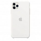 Apple Silicone Case для iPhone 11 Pro Max белый